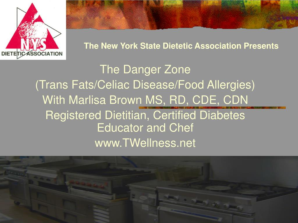 The New York State Dietetic Association Presents