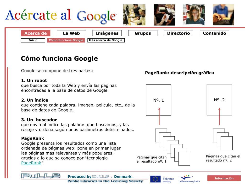Om Google 1 Sådan virker Google