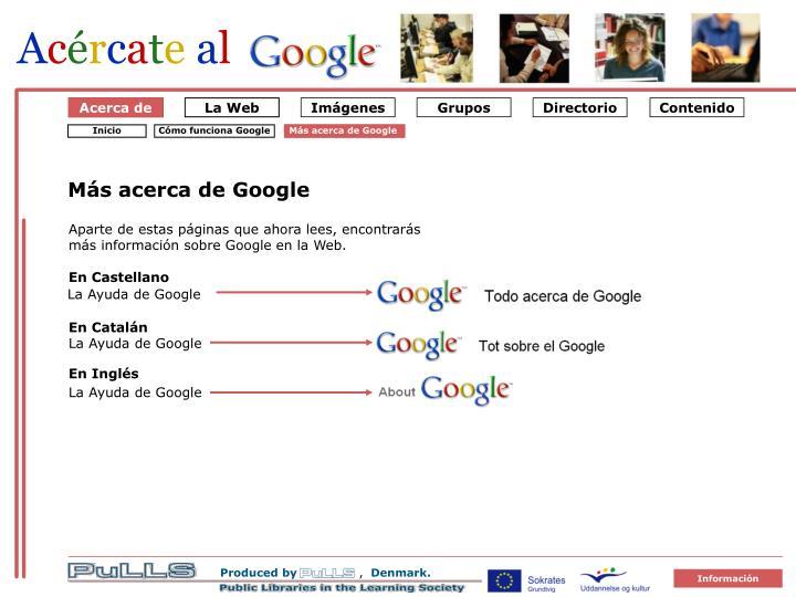 Om google 1 s dan virker google3