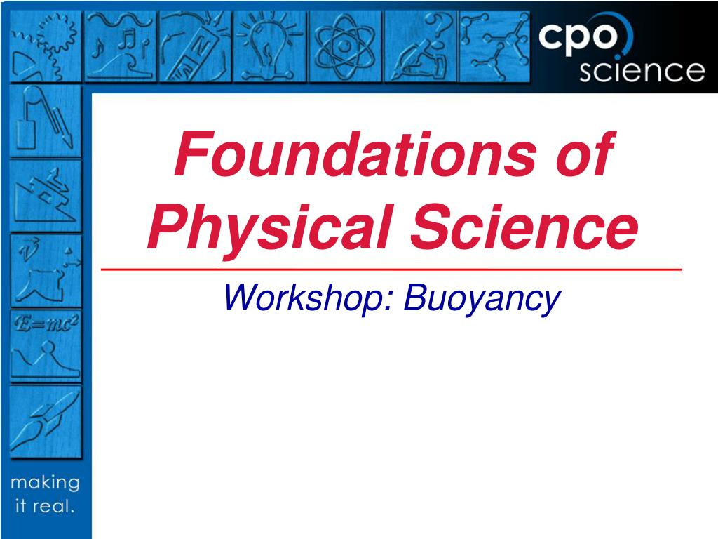 ppt foundations of physical science powerpoint presentation id