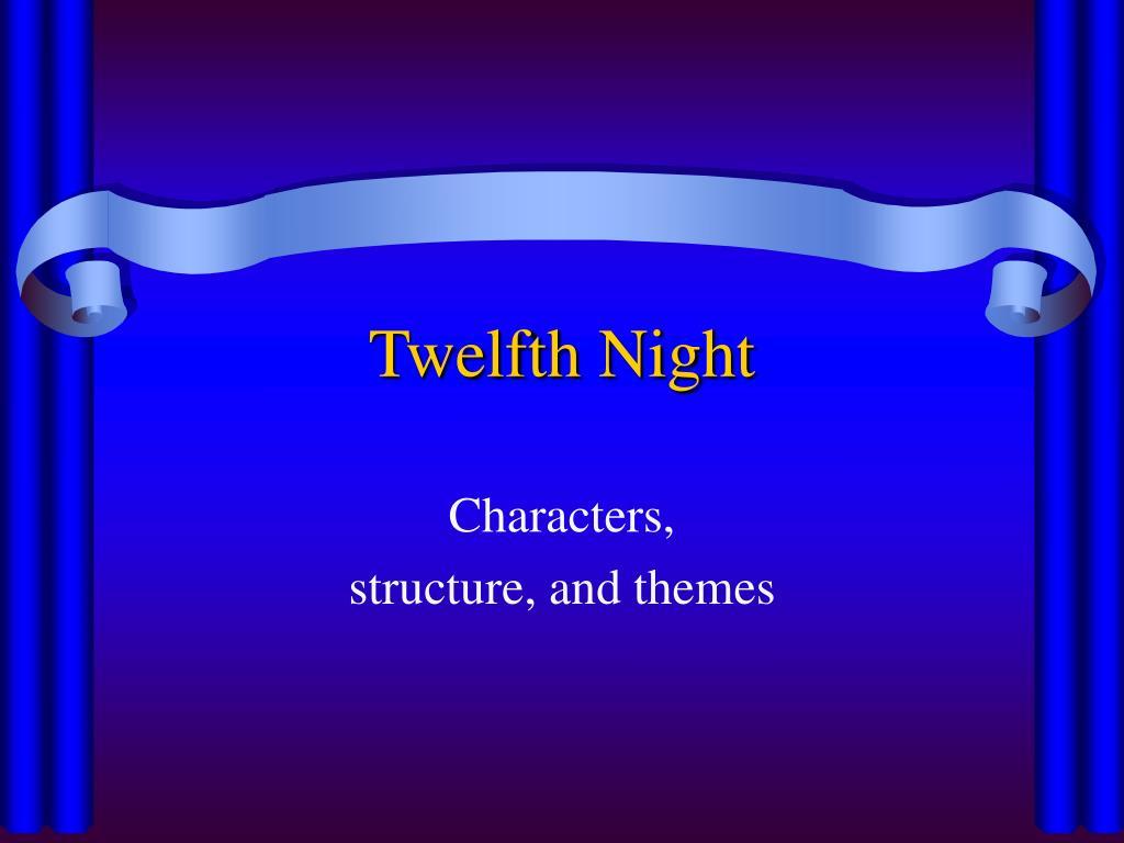 twelfth night l.