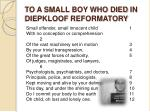 to a small boy who died in diepkloof reformatory4