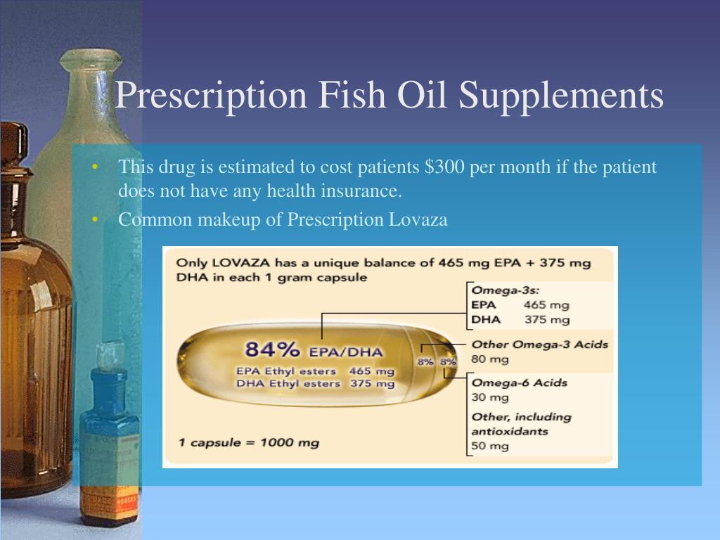 Prescription Fish Oil Supplements