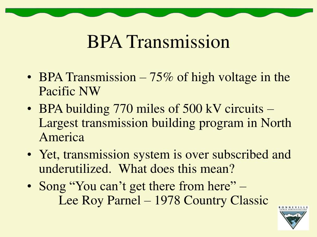 BPA Transmission