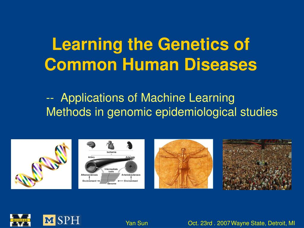 learning the genetics of common human diseases l.