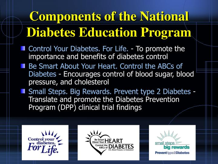 preventative education for the diabetic patient Patients with diabetes are 25 times more likely to become legally blind than are patients without diabetes there are three eye-related major complications: retinopathy, cataracts, and glaucoma blurred vision can occur as a result of high blood sugars.
