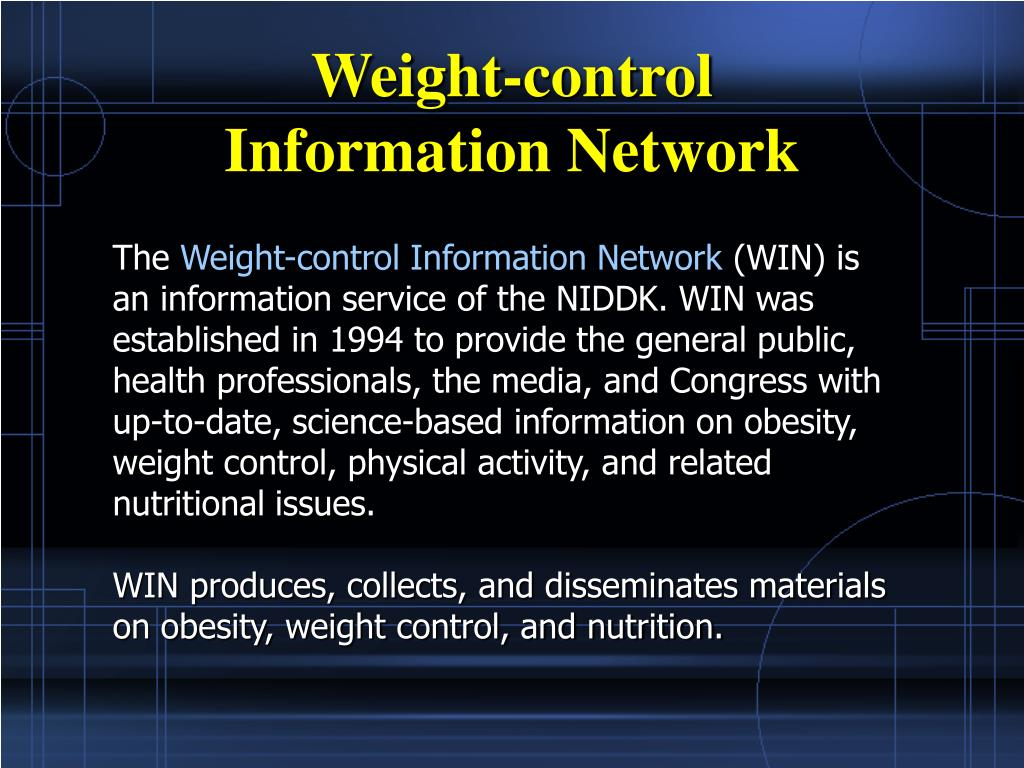Weight-control