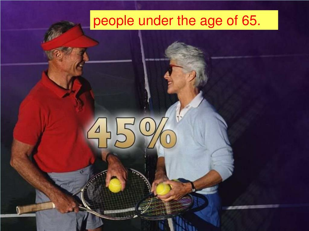 people under the age of 65.