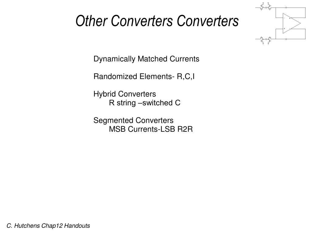 Other Converters Converters
