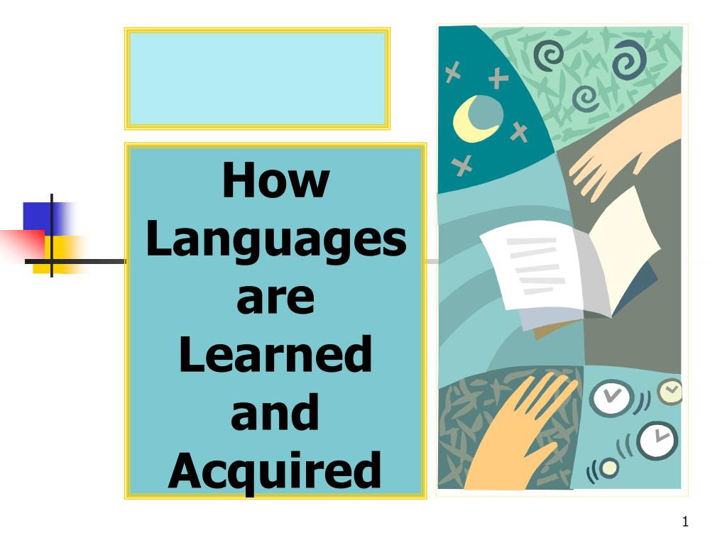how languages are learned and acquired l.
