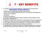 7 key benefits