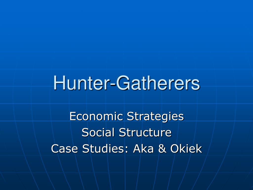 hunter gatherers l.