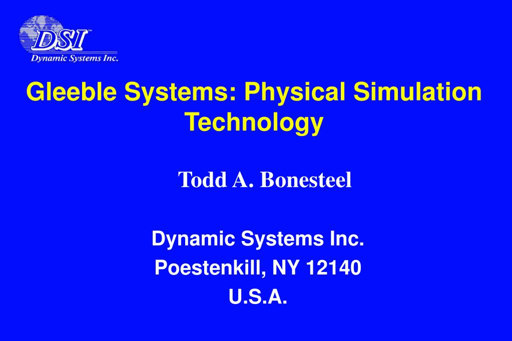 gleeble systems physical simulation technology l.