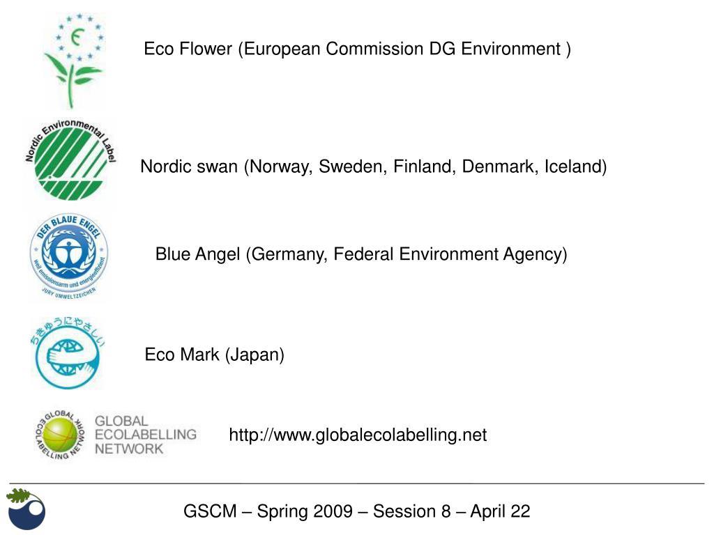 Eco Flower (European Commission DG Environment )