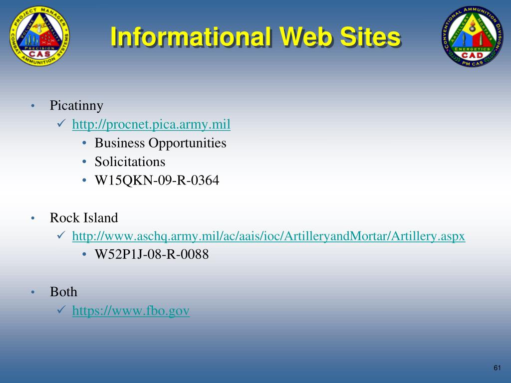 Informational Web Sites