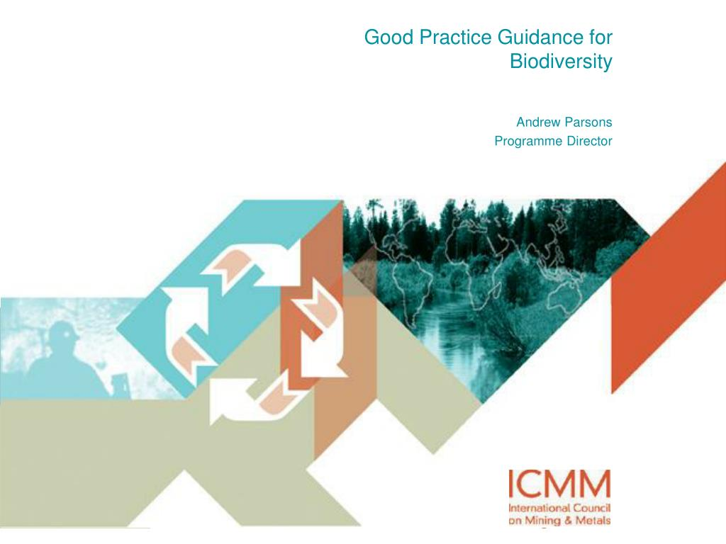 good practice guidance for biodiversity l.