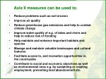 axis ii measures can be used to