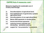 eafrd axis ii measures cont
