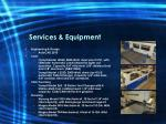 services equipment
