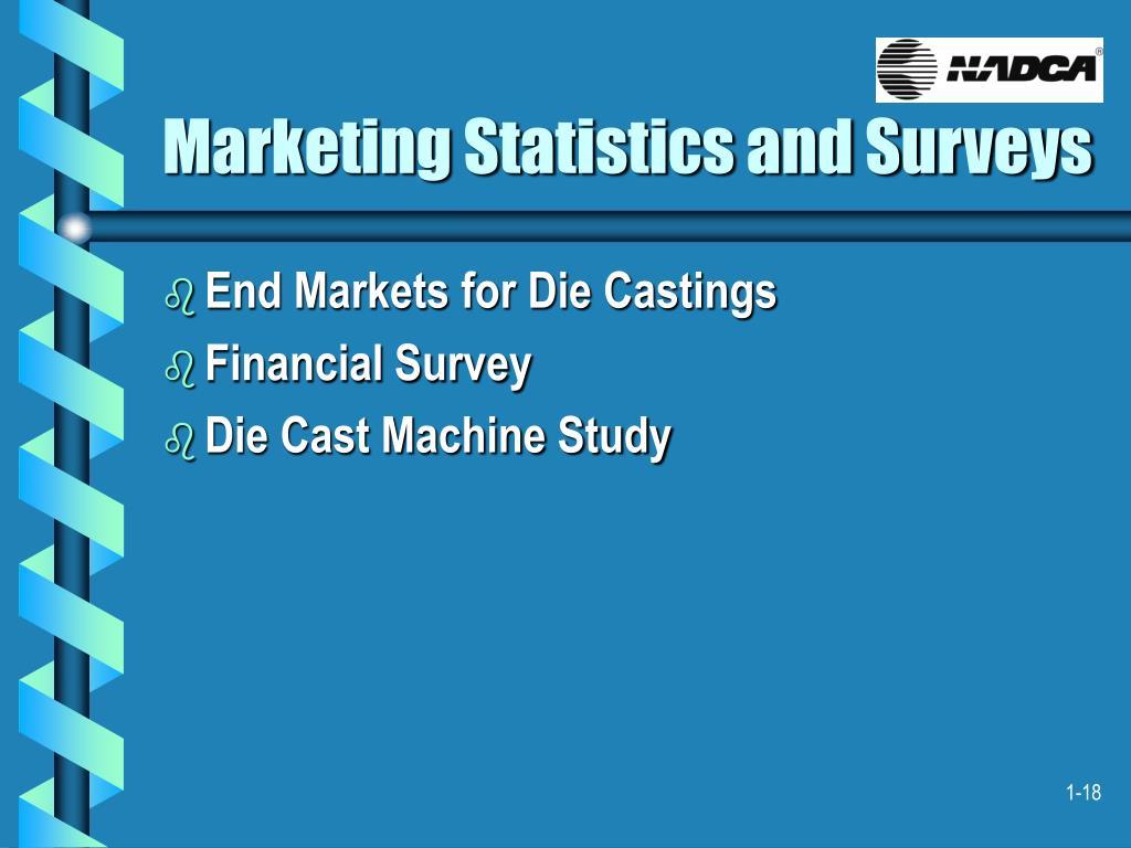 Marketing Statistics and Surveys