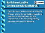 north american die casting association nadca
