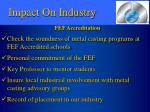 impact on industry8