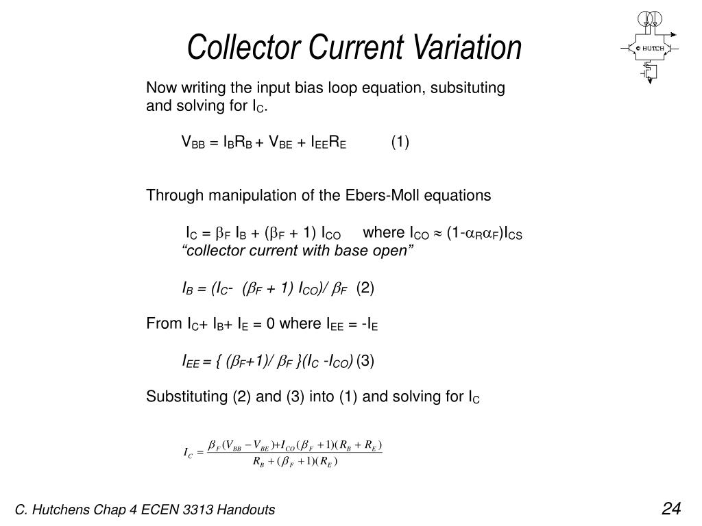Collector Current Variation