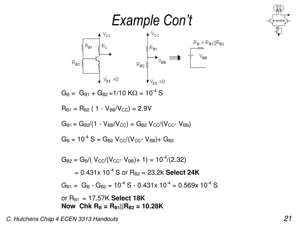 Example Con't