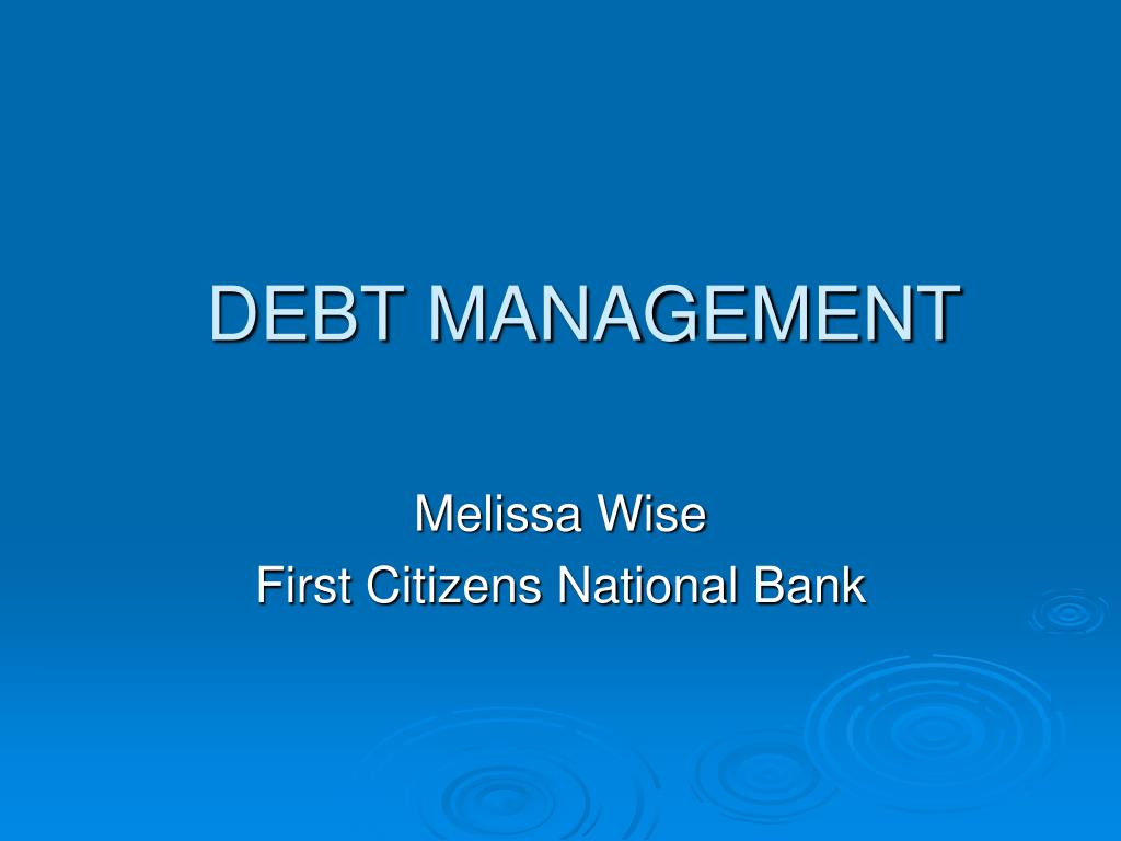 debt management l.