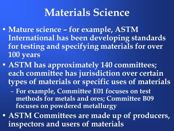 Materials science3