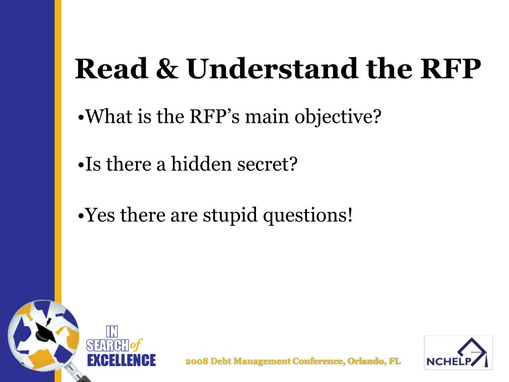 Read & Understand the RFP