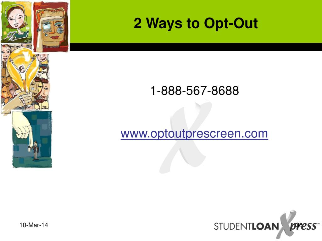 2 Ways to Opt-Out