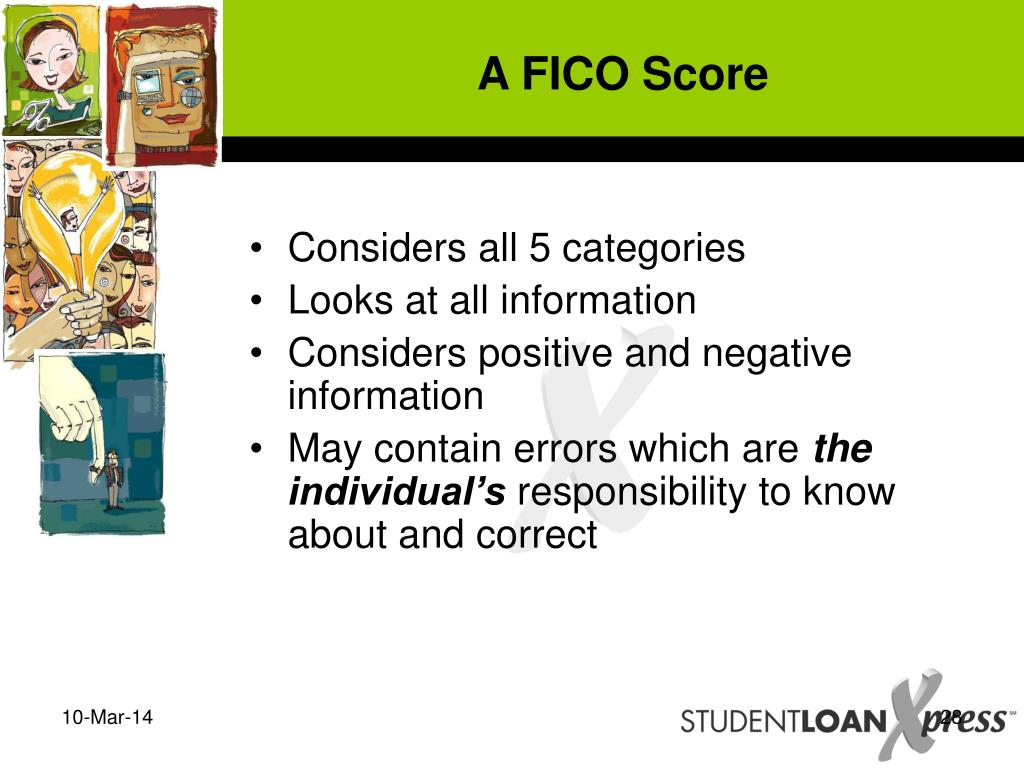 A FICO Score