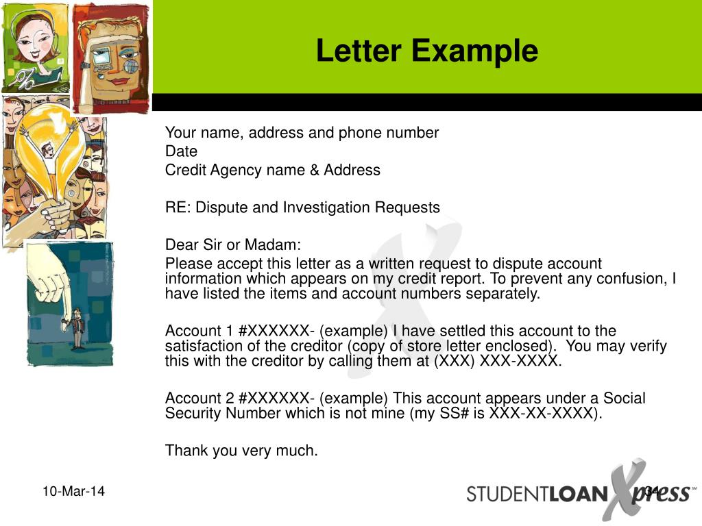 Letter Example