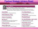 flywheel strategic advisory board