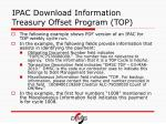 ipac download information treasury offset program top