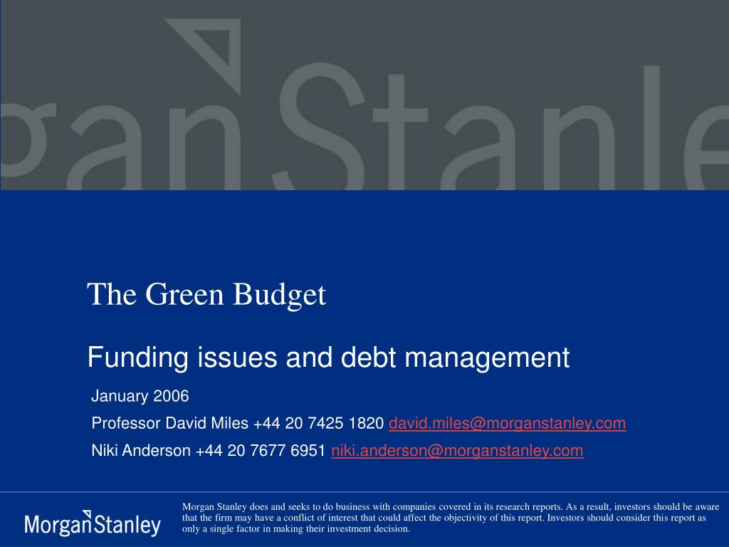 the green budget l.