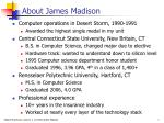 about james madison
