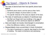 top speed objects classes1