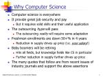 why computer science1