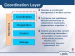 coordination layer