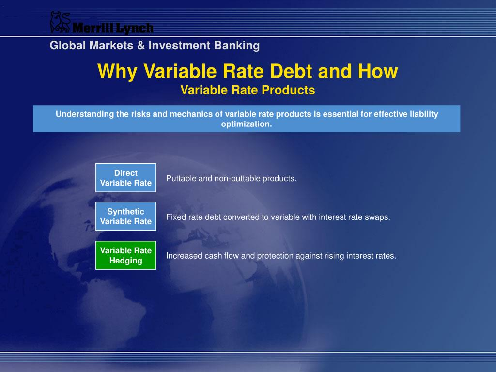 Direct Variable Rate