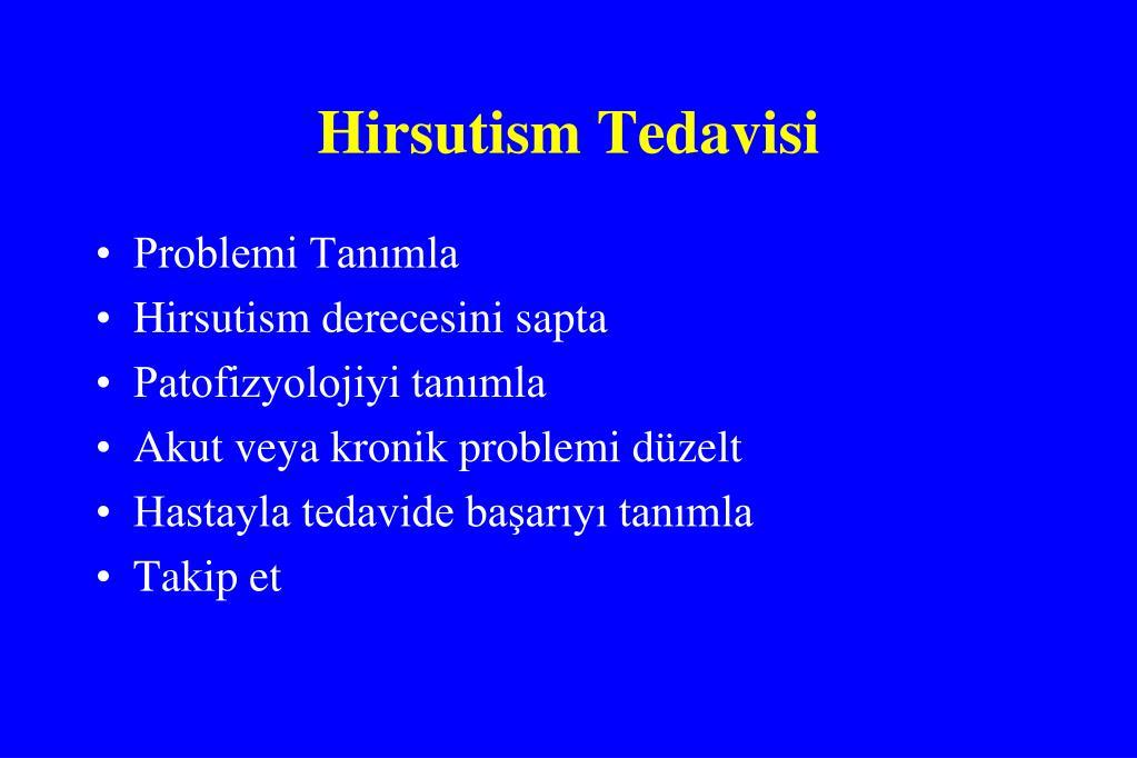 Hirsutism Tedavisi
