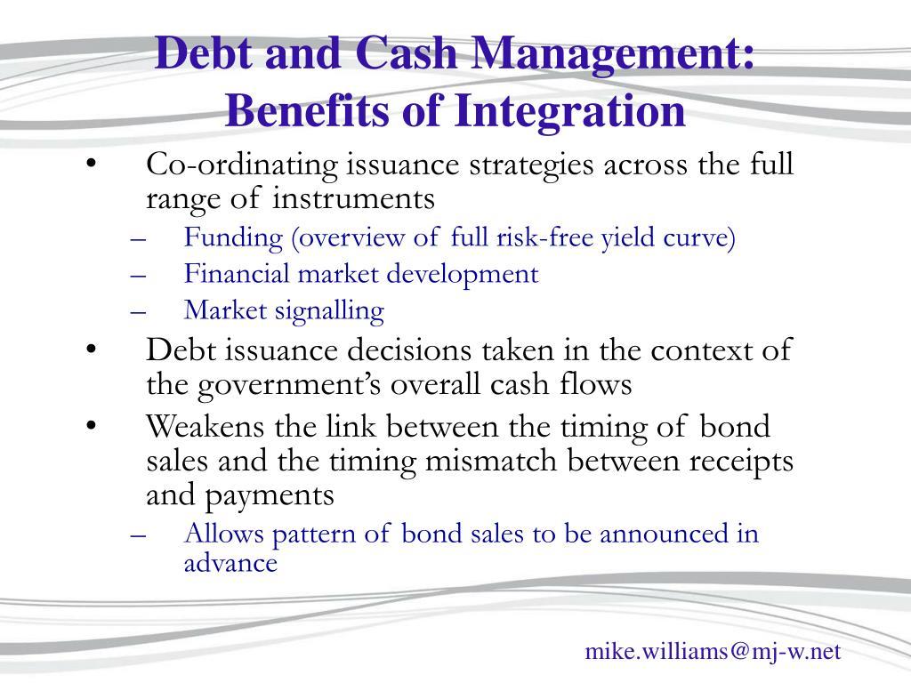 Debt and Cash Management: