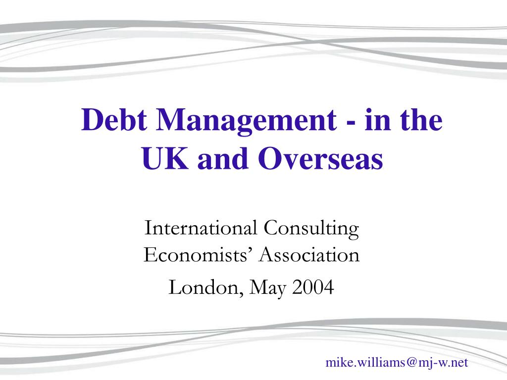 debt management in the uk and overseas l.