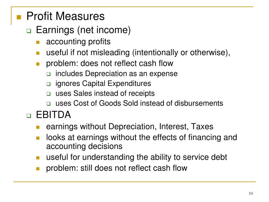 Profit Measures