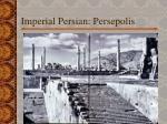 imperial persian persepolis