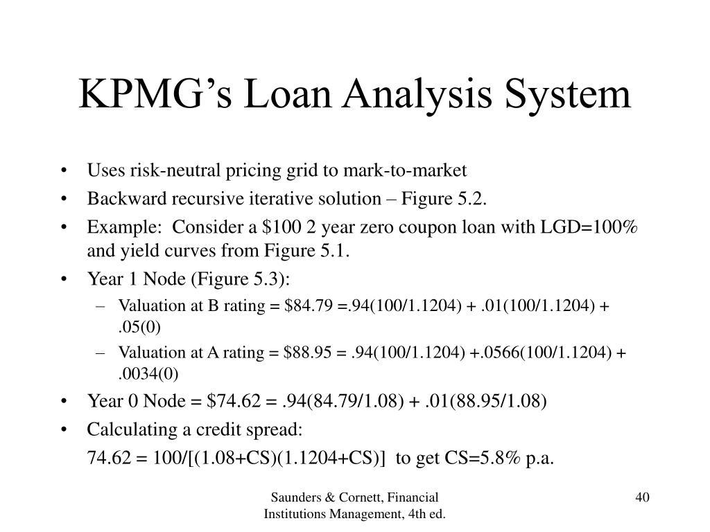 KPMG's Loan Analysis System