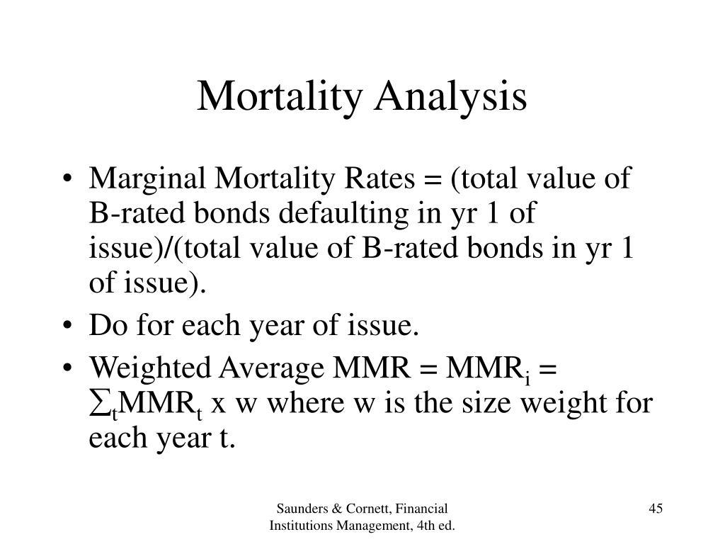 Mortality Analysis
