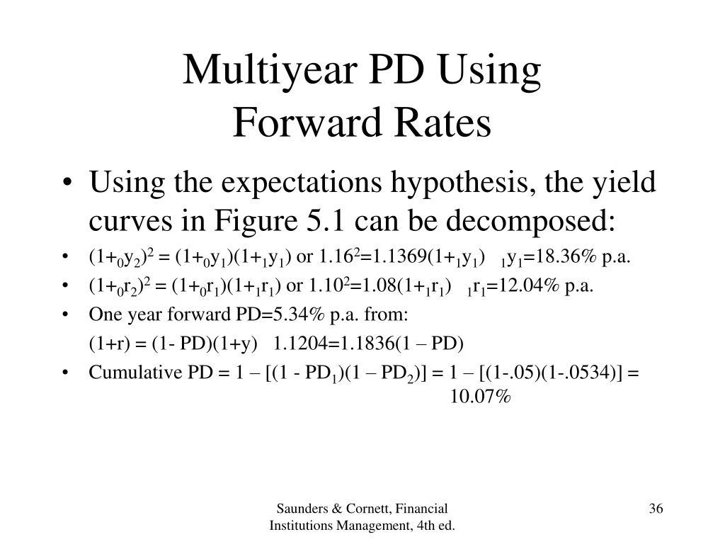 Multiyear PD Using